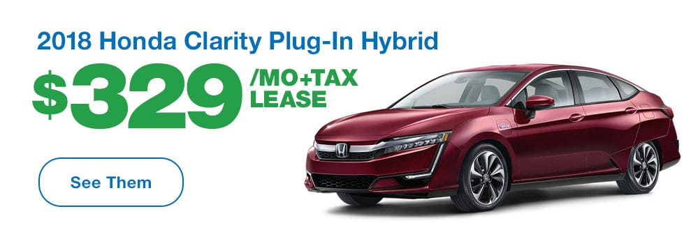 2018 Honda Clarity Plug-In Hybrid Lease