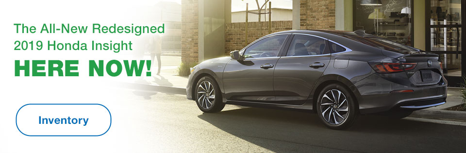 The All-New Redesigned 2019 Honda Insight Here Now!