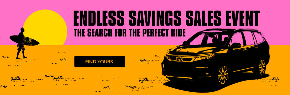 Endless Savings Sales Event