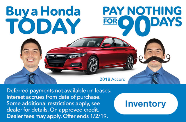 Honda Magic Time Machine Sales Event