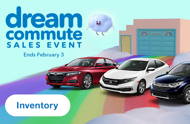 Honda Dream Commute Sales Event