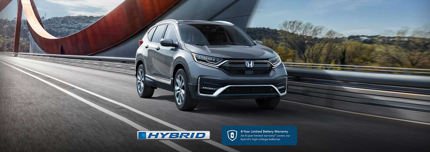 The 2020 CR-V Hybrid: Honda's First Electrified SUV