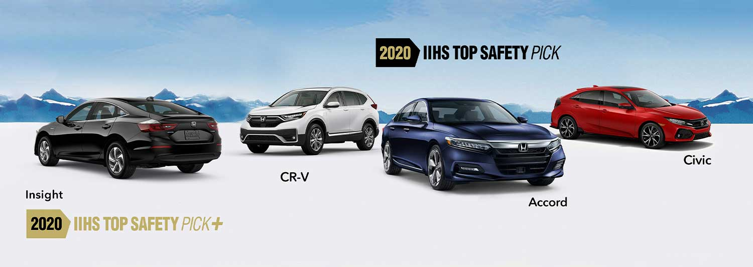 6 New Hondas Earn Top Safety Ratings