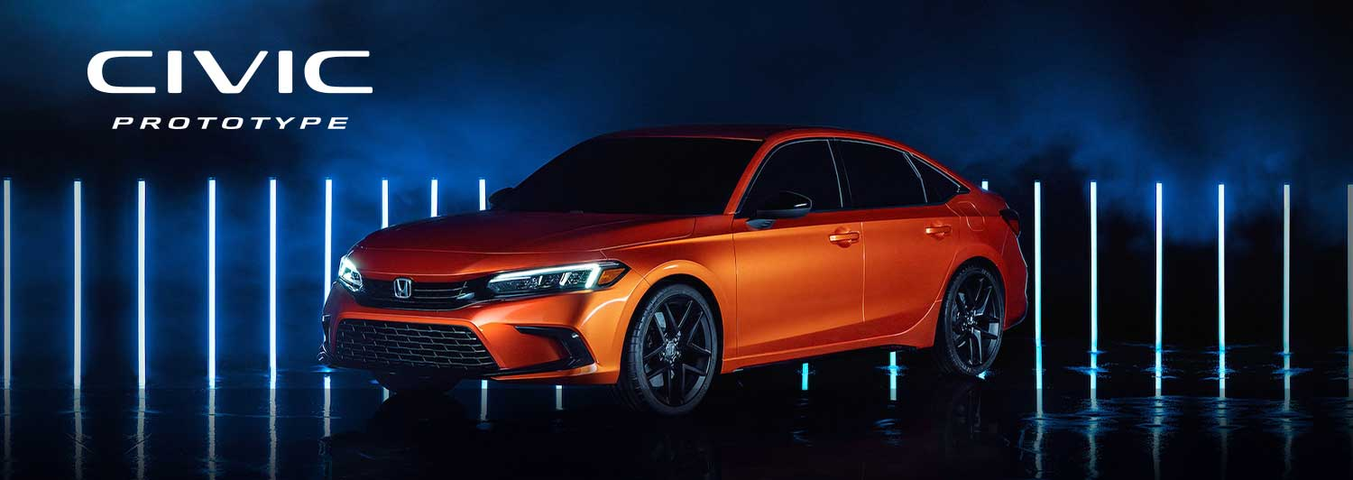 The Honda Civic is All New for 2022
